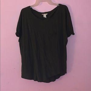 Dark Green H&M Shirt